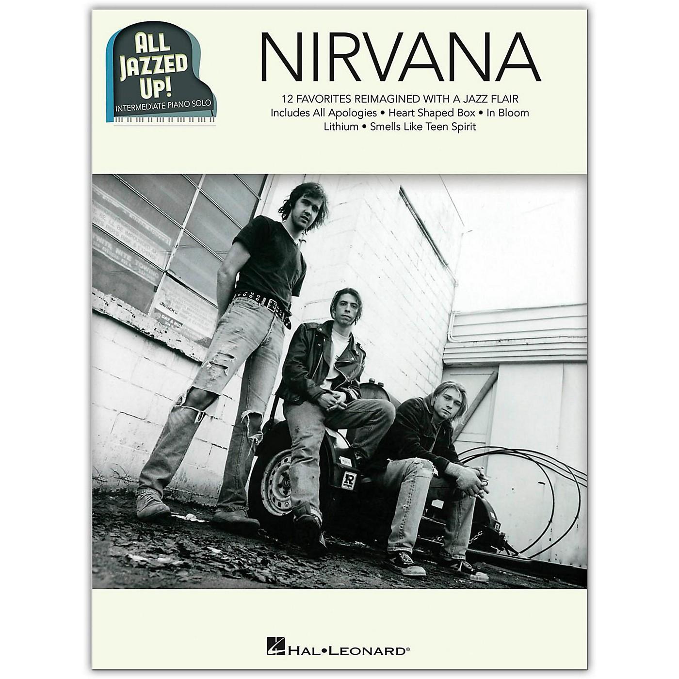 Hal Leonard Nirvana - All Jazzed Up!  Intermediate Piano Solo Songbook thumbnail