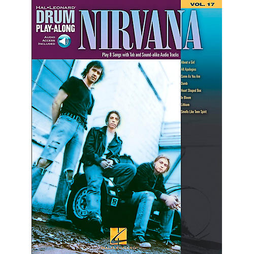 Hal Leonard Nirvana - Drum Play-Along Volume 17 Book/CD Set thumbnail