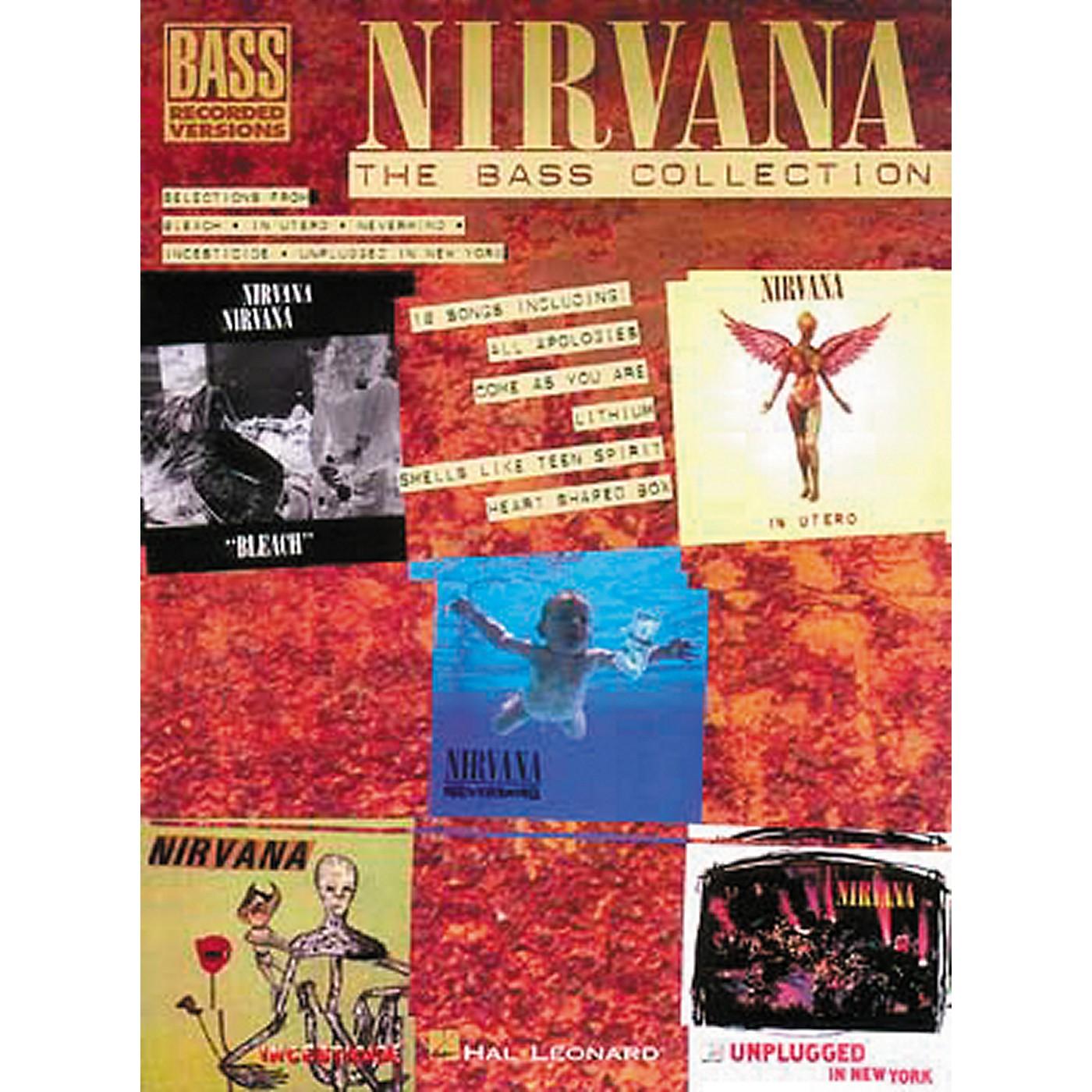 Hal Leonard Nirvana - The Bass Collection Tab Songbook thumbnail