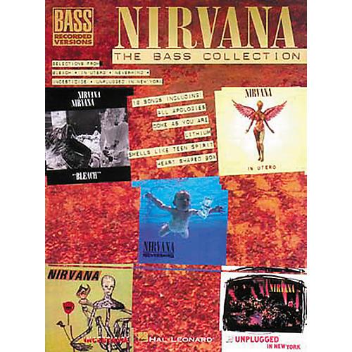 Hal Leonard Nirvana - The Bass Collection Tab Songbook-thumbnail