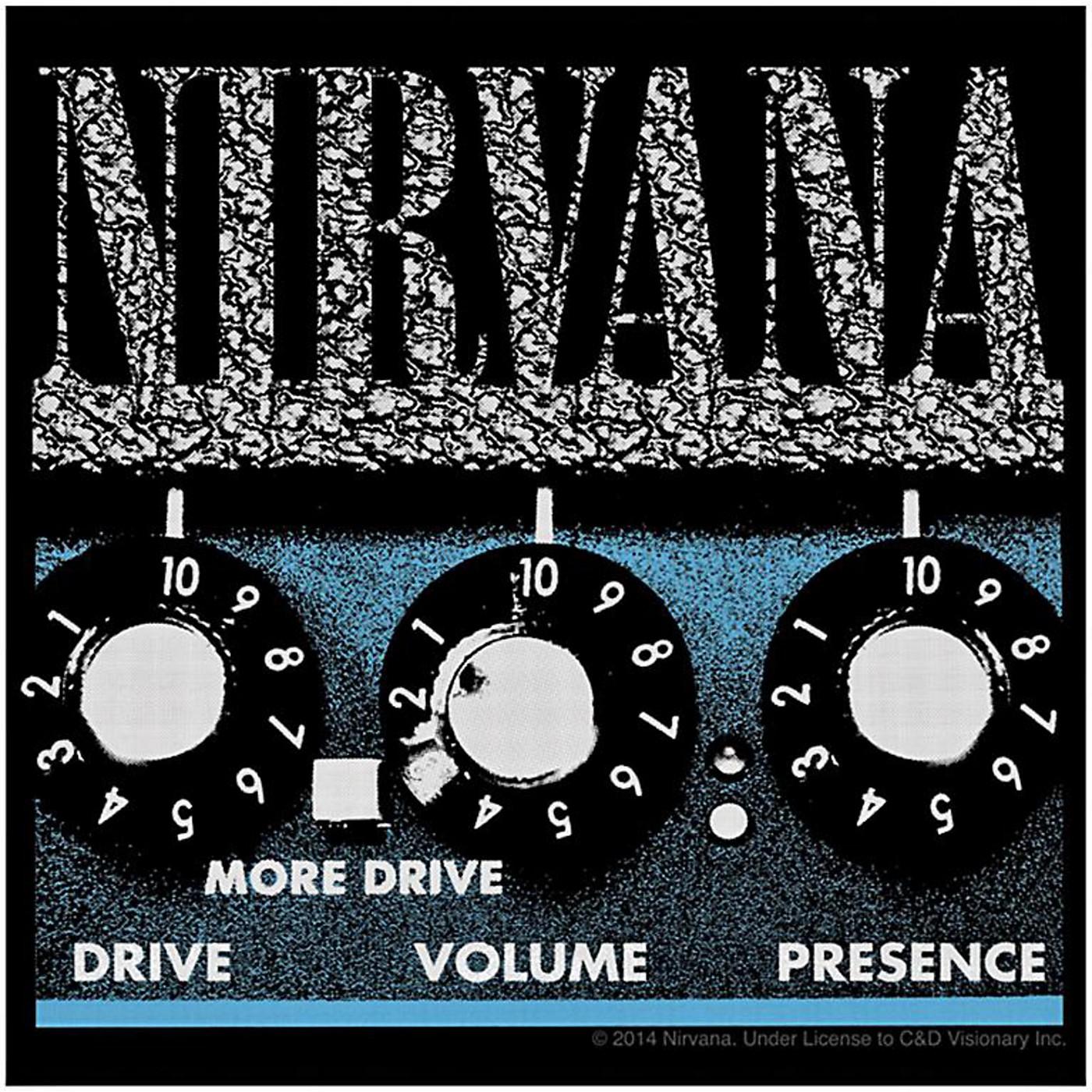 C&D Visionary Nirvana Amp Sticker thumbnail