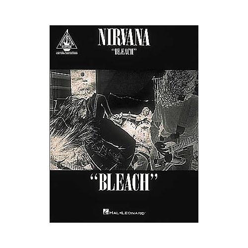 Hal Leonard Nirvana Bleach Guitar Tab Songbook thumbnail