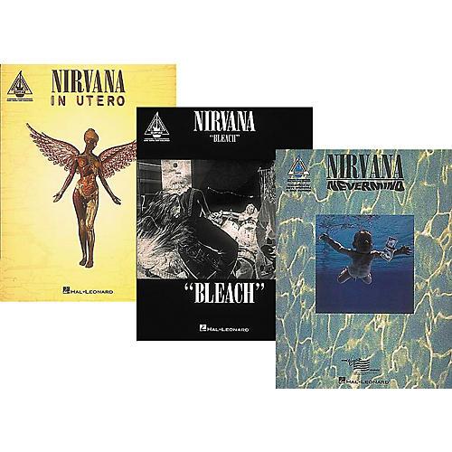 Hal Leonard Nirvana Complete Guitar Tab Library thumbnail