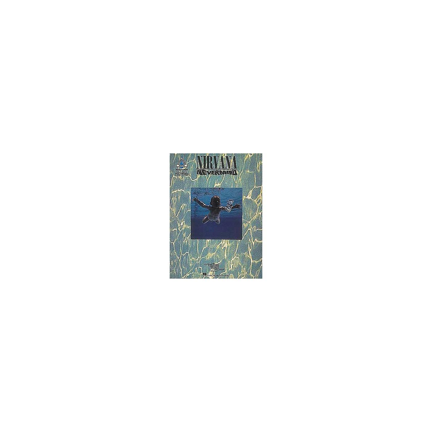 Hal Leonard Nirvana Nevermind Guitar Tab Songbook thumbnail