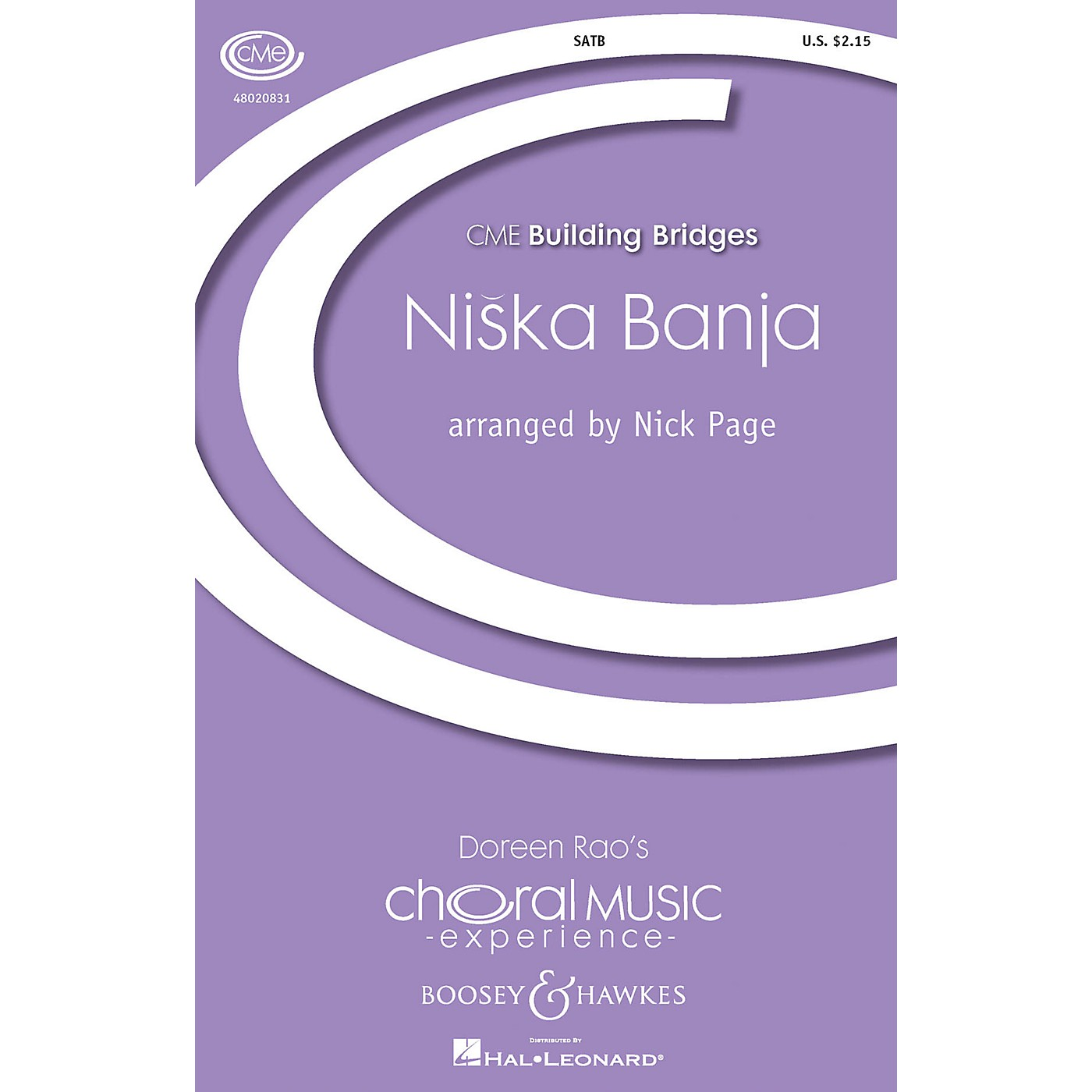 Boosey and Hawkes Niska Banja (CME Building Bridges) SATB arranged by Nick Page thumbnail