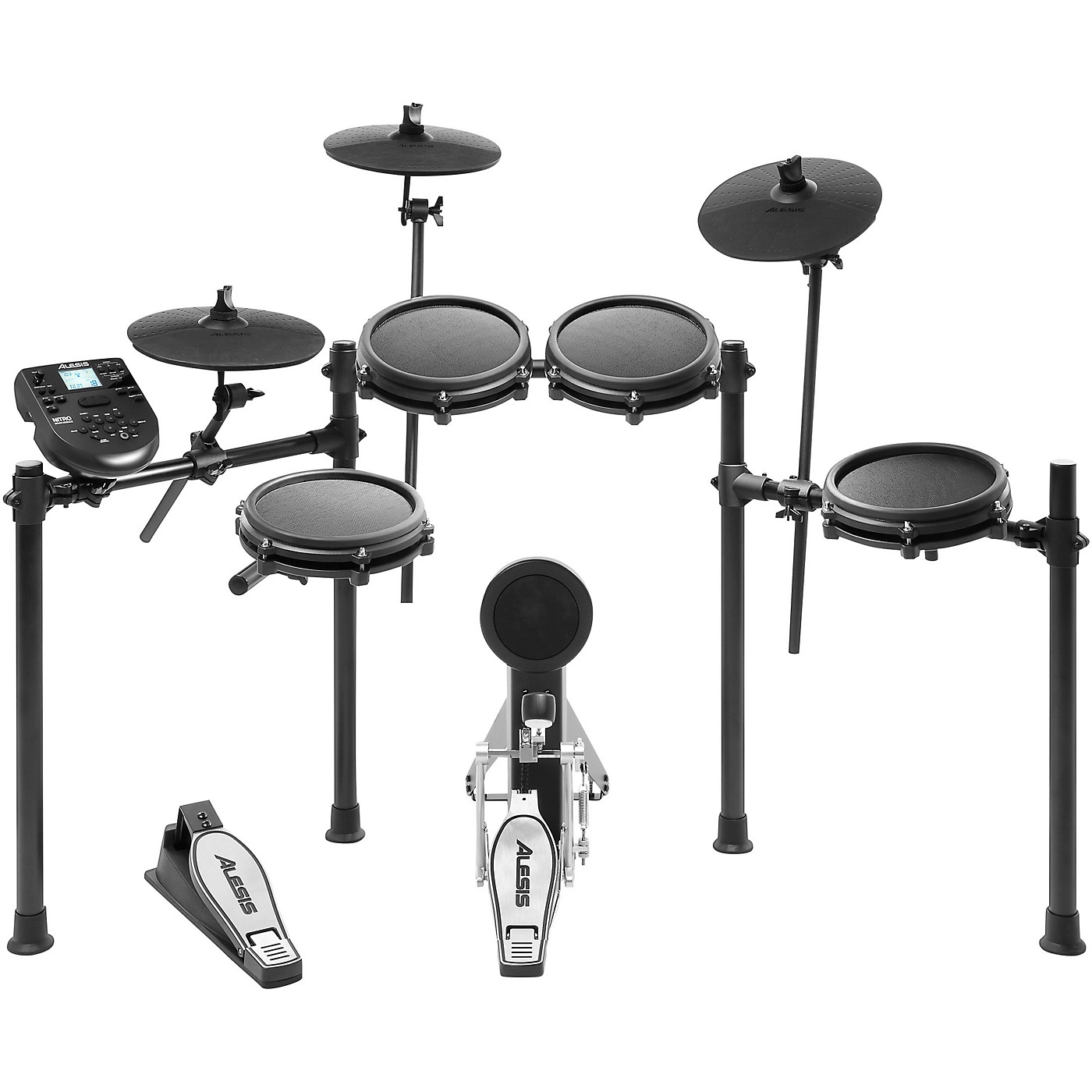 Alesis Nitro Mesh 8-Piece Electronic Drum Set thumbnail