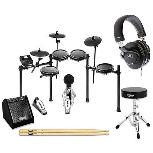Alesis Nitro Mesh Electronic Drum Set Complete Bundle with Simmons DA25 Monitor thumbnail