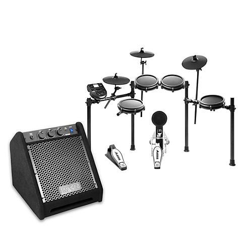 Alesis Nitro Mesh Electronic Drum Set with DA25 Amp thumbnail