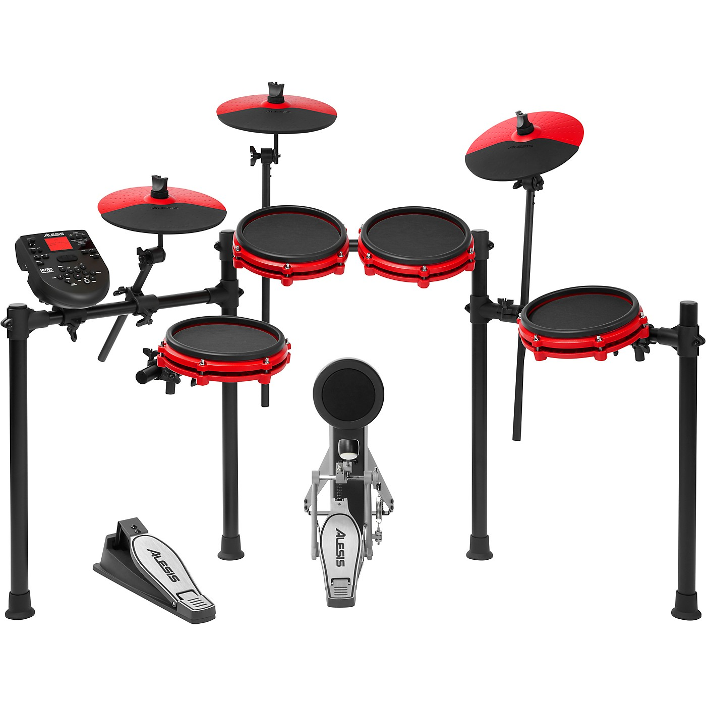 Alesis Nitro Mesh Special-Edition 8-Piece Electronic Drum Set thumbnail