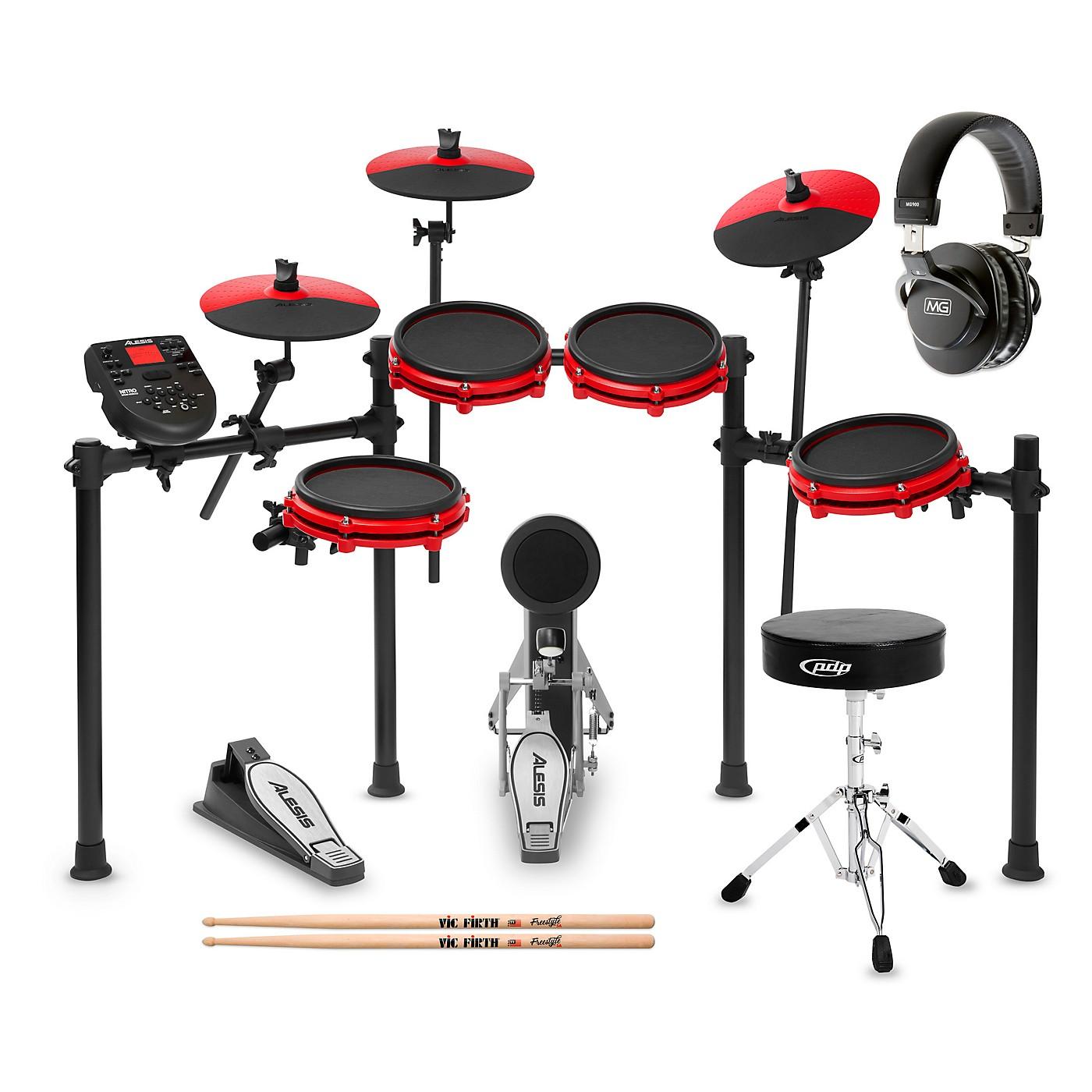 Alesis Nitro Mesh Special Edition Electronic Drum Set Starter Kit thumbnail