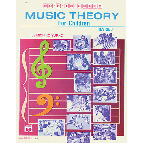 Alfred No H in Snake: Music Theory for Children Book-thumbnail