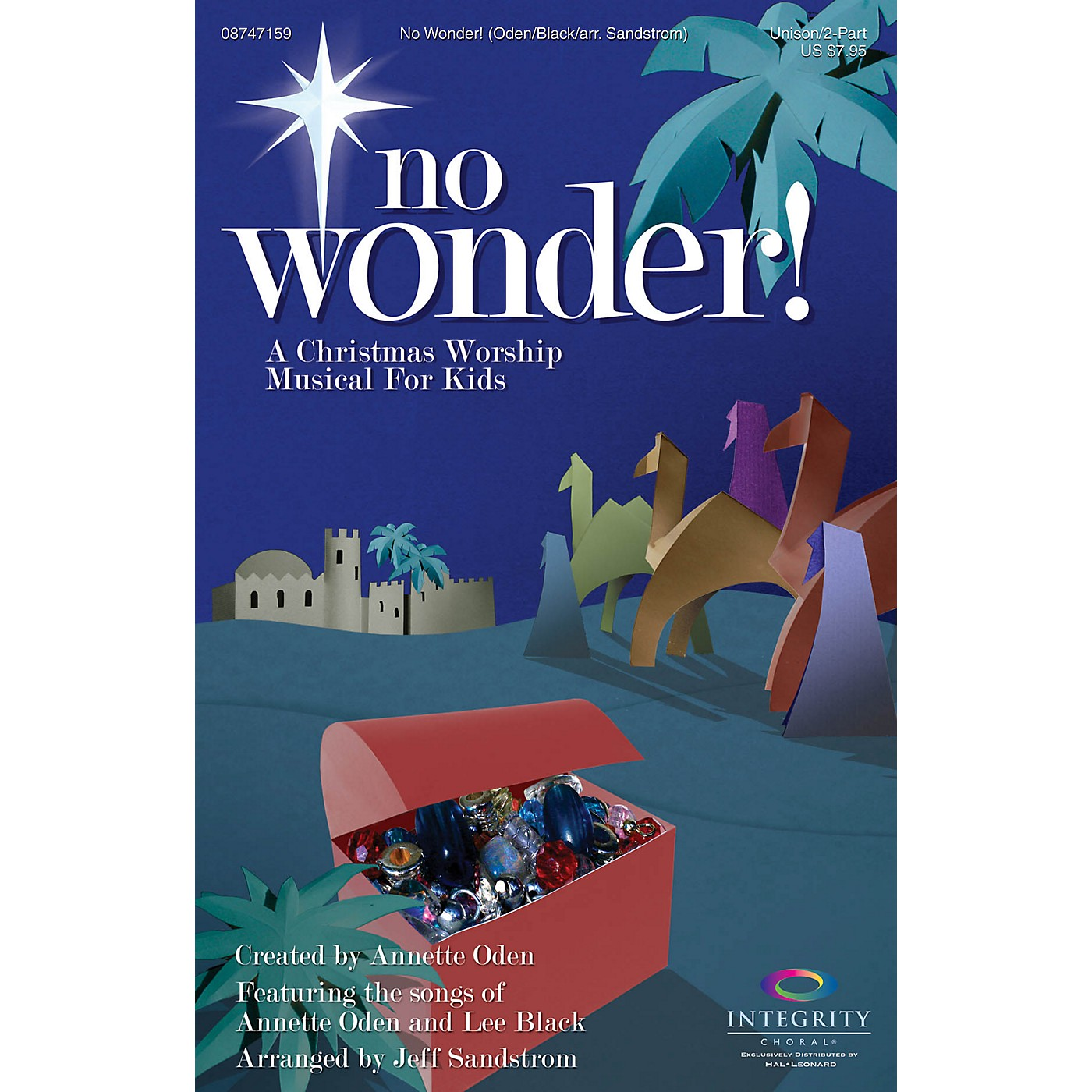 Integrity Music No Wonder! (A Christmas Worship Musical for Kids) Unison/2-Part Choral Book Arranged by Jeff Sandstrom thumbnail