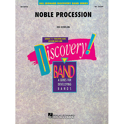Hal Leonard Noble Procession Concert Band Level 1.5 Composed by Eric Osterling thumbnail