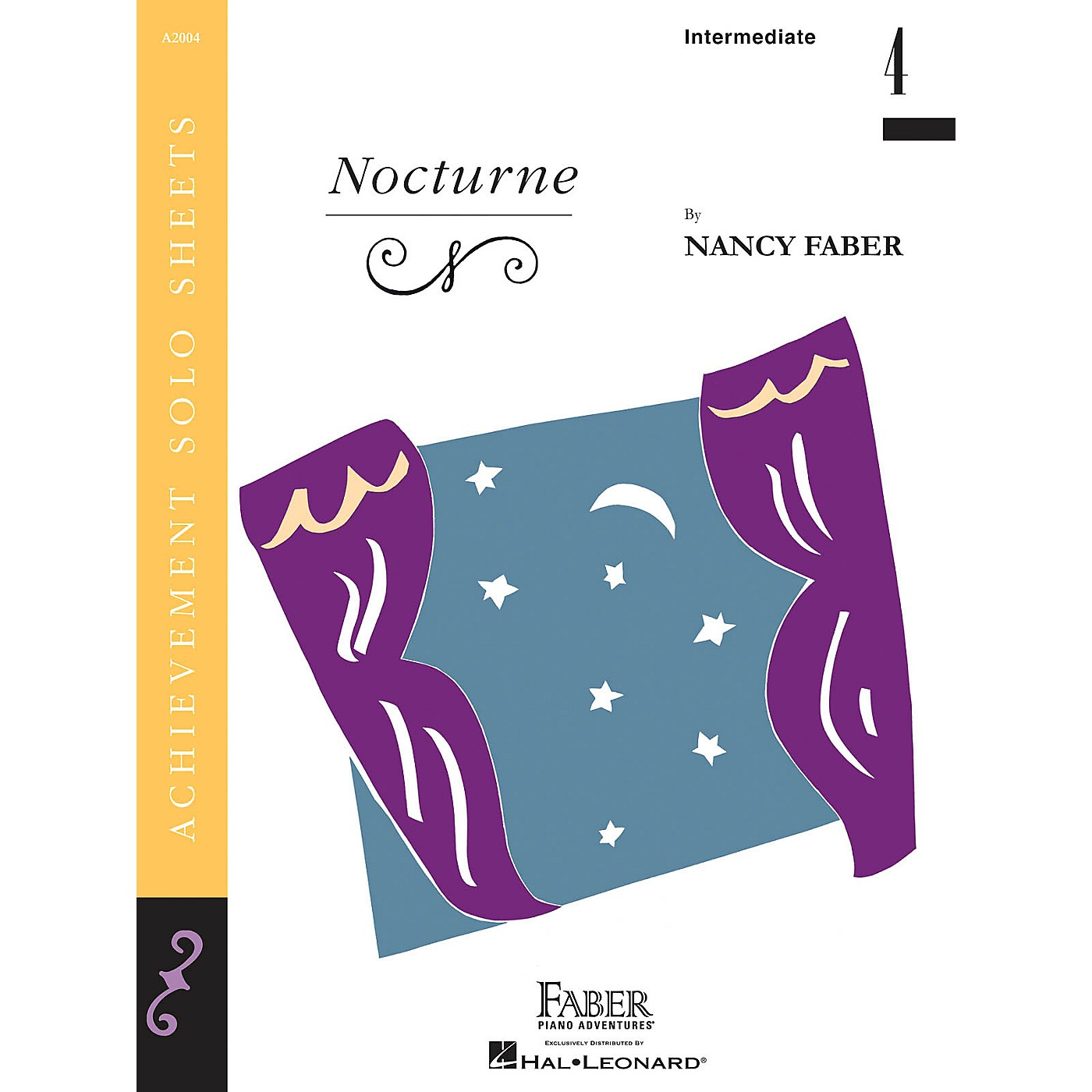 Faber Piano Adventures Nocturne (Inter/Level 4 Piano Solo) Faber Piano Adventures® Series by Nancy Faber thumbnail