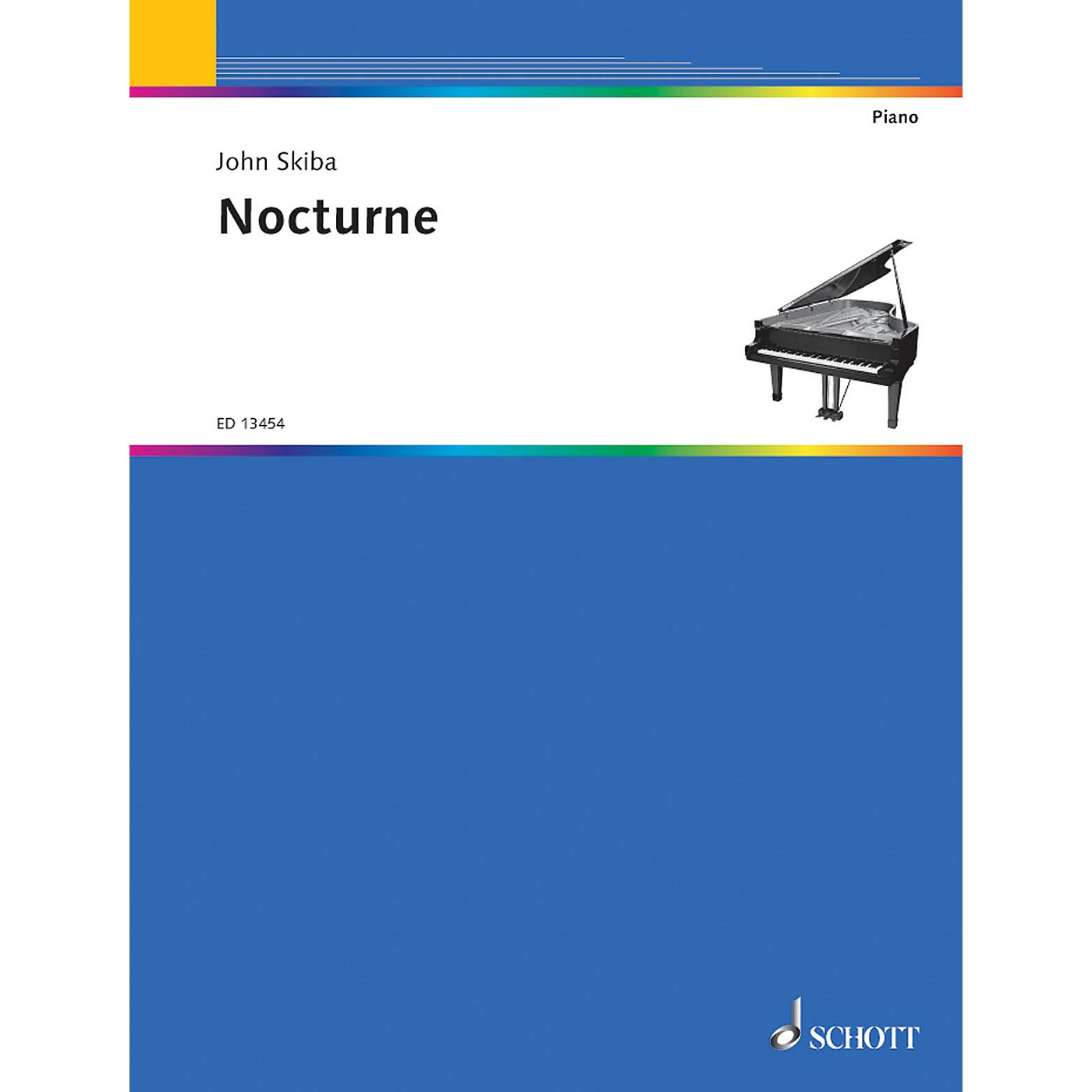 Schott Nocturne Schott Series Softcover Composed by John Skiba thumbnail