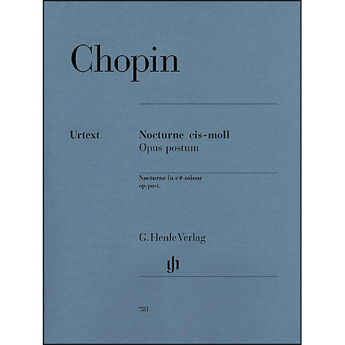 G. Henle Verlag Nocturne in C Sharp minor Op. Posth. By Chopin thumbnail