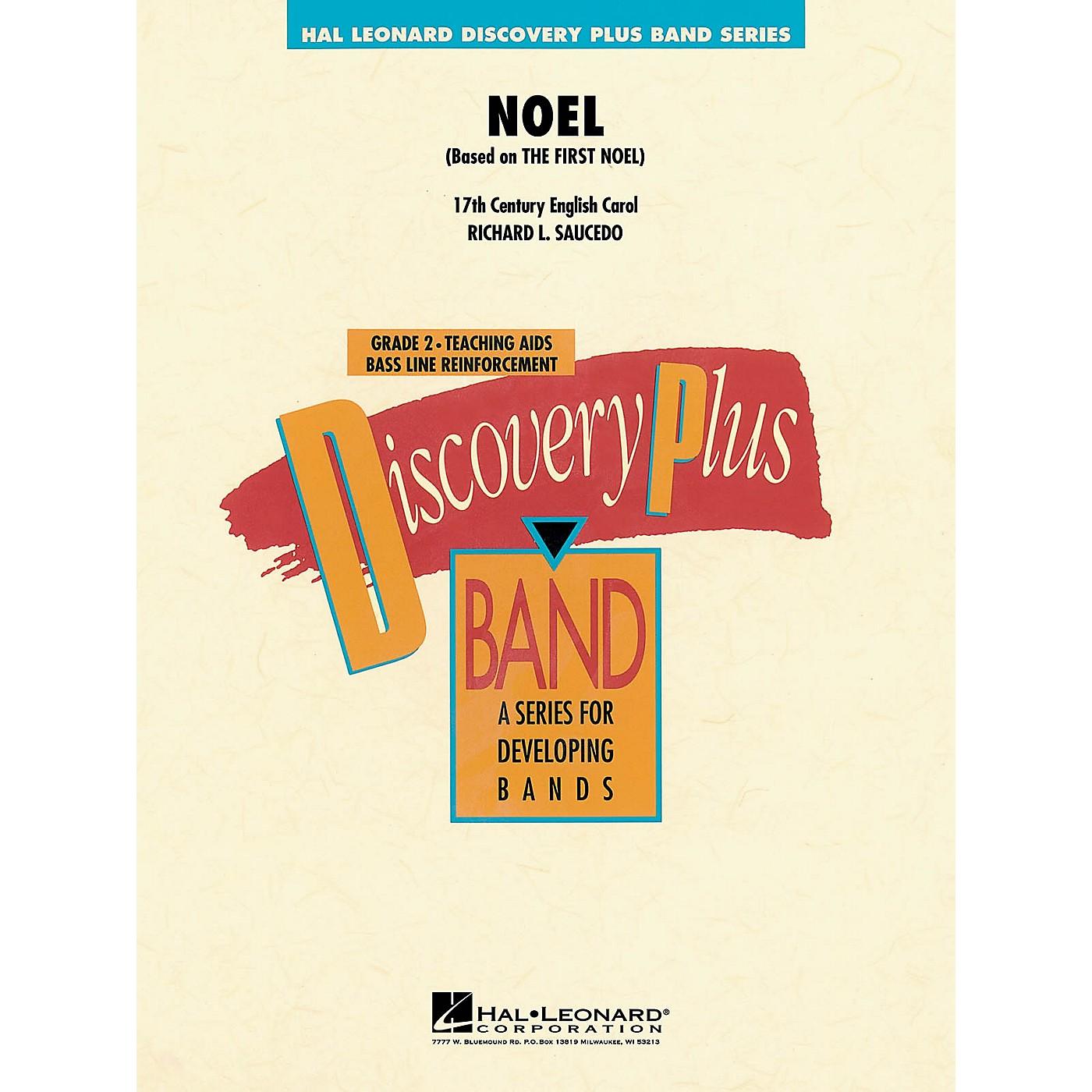 Hal Leonard Noel - Discovery Plus Concert Band Series Level 2 arranged by Richard Saucedo thumbnail