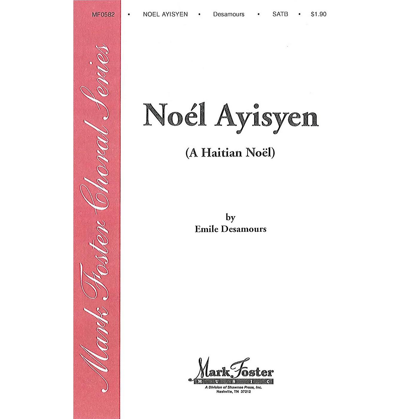 Shawnee Press Noel Ayisyen SATB composed by Emile Desamours thumbnail