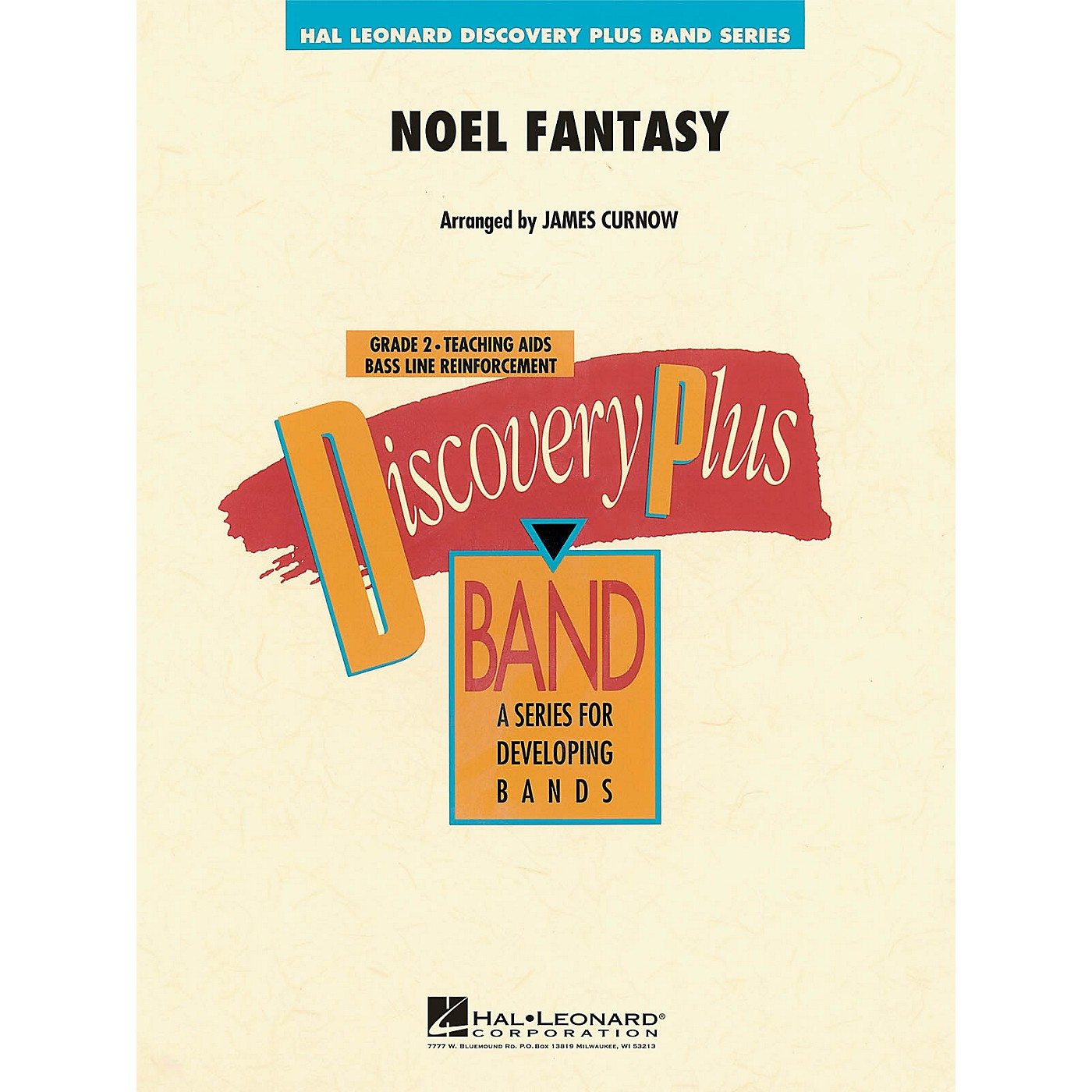 Hal Leonard Noel Fantasy - Discovery Plus Concert Band Series Level 2 arranged by James Curnow thumbnail