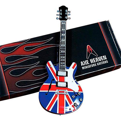 Axe Heaven Noel Gallagher Union Jack Supernova Miniature Guitar Replica Collectible thumbnail
