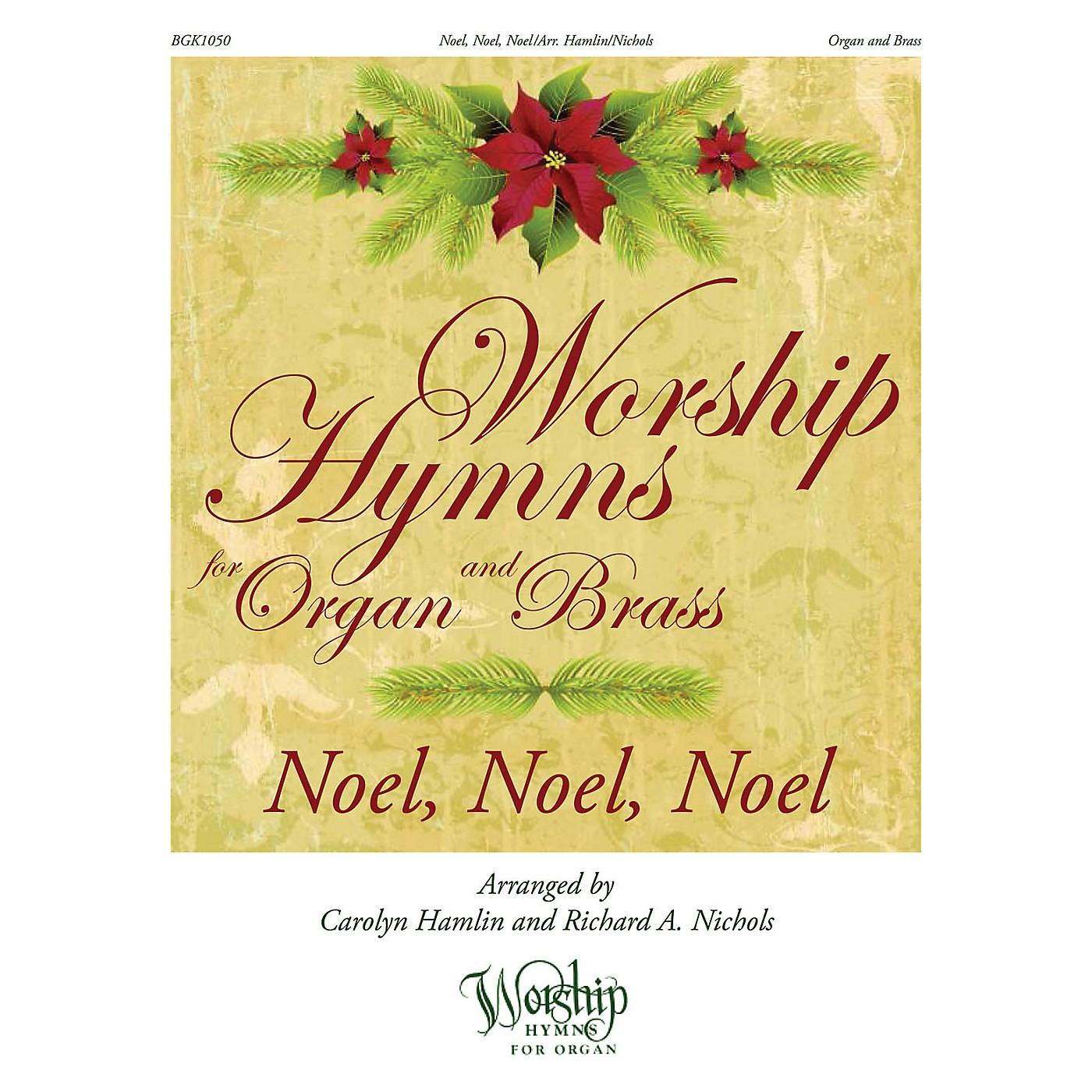 H.T. FitzSimons Company Noel, Noel, Noel (Worship Hymns for Organ and Brass) arranged by Carolyn Hamlin thumbnail