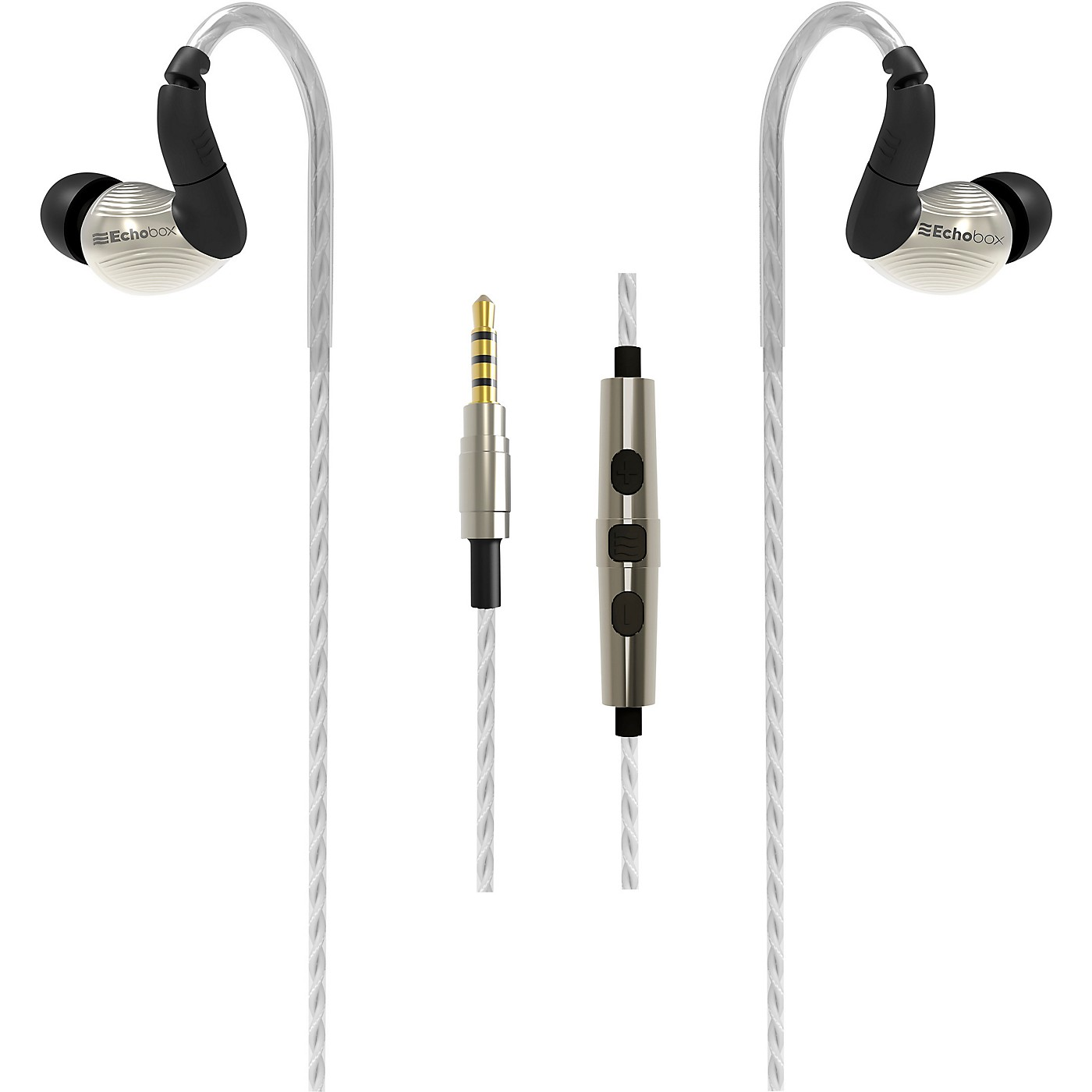 Echobox Audio Nomad Hi-Res In-Ear Gaming Earphone - iPhone Microphone Edition thumbnail