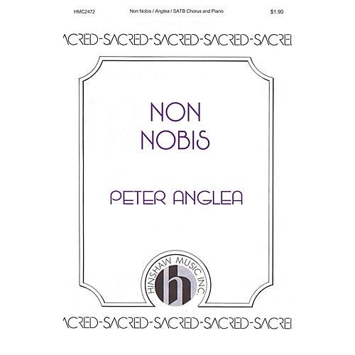 Hinshaw Music Non Nobis SATB composed by Peter Anglea thumbnail