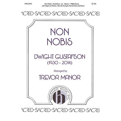 Hinshaw Music Non Nobis TTBB arranged by Trevor Manor thumbnail