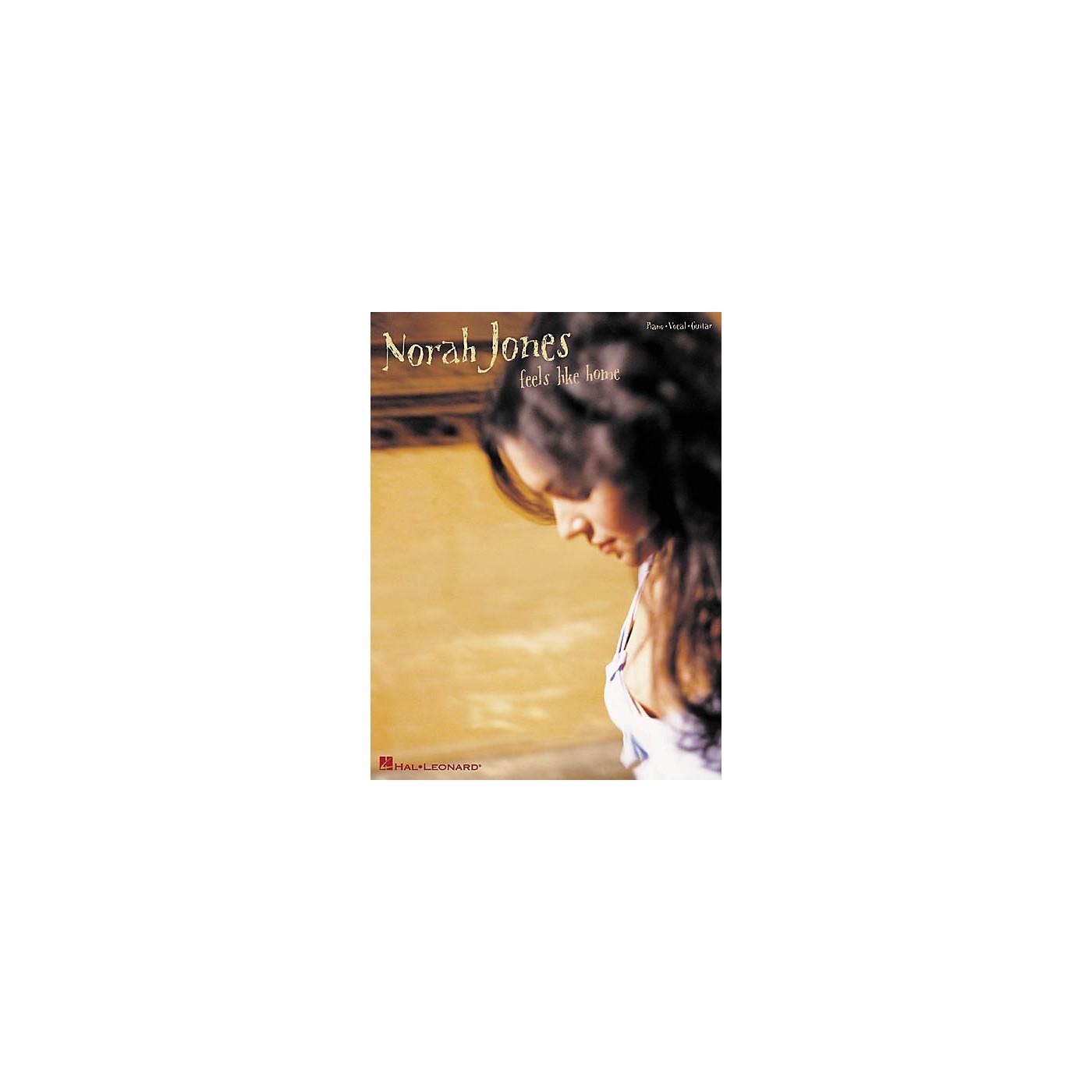 Hal Leonard Norah Jones - Feels Like Home Piano/Vocal/Guitar Artist Songbook thumbnail
