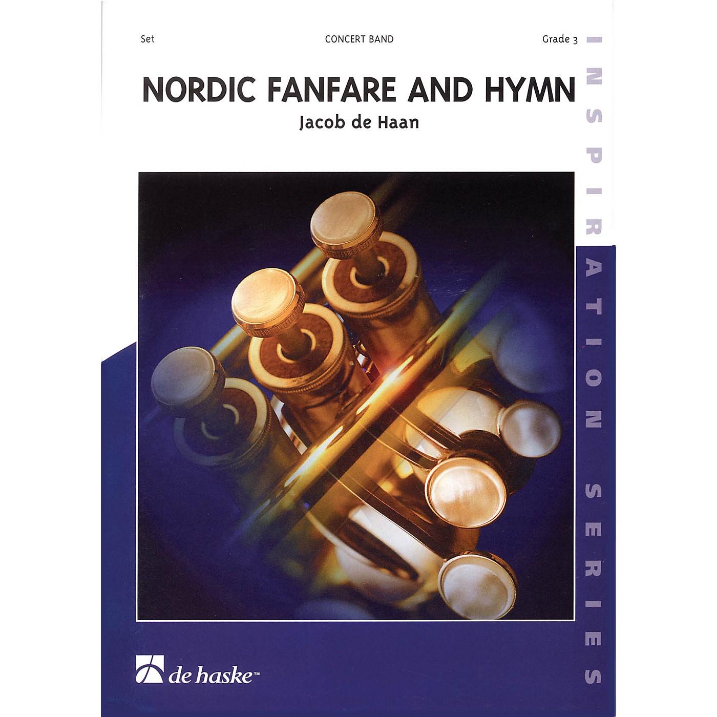 De Haske Music Nordic Fanfare and Hymn Full Score Concert Band Level 3 Composed by Jacob de Haan thumbnail