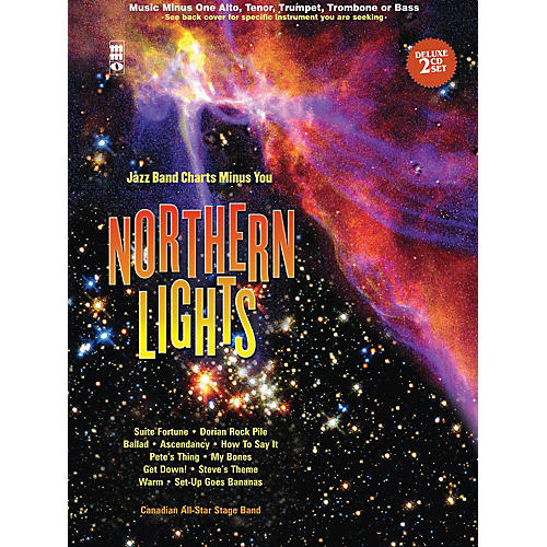 Music Minus One Northern Lights - Tenor Saxophone Music Minus One Book with CD by Canadian All Star Stage Band thumbnail