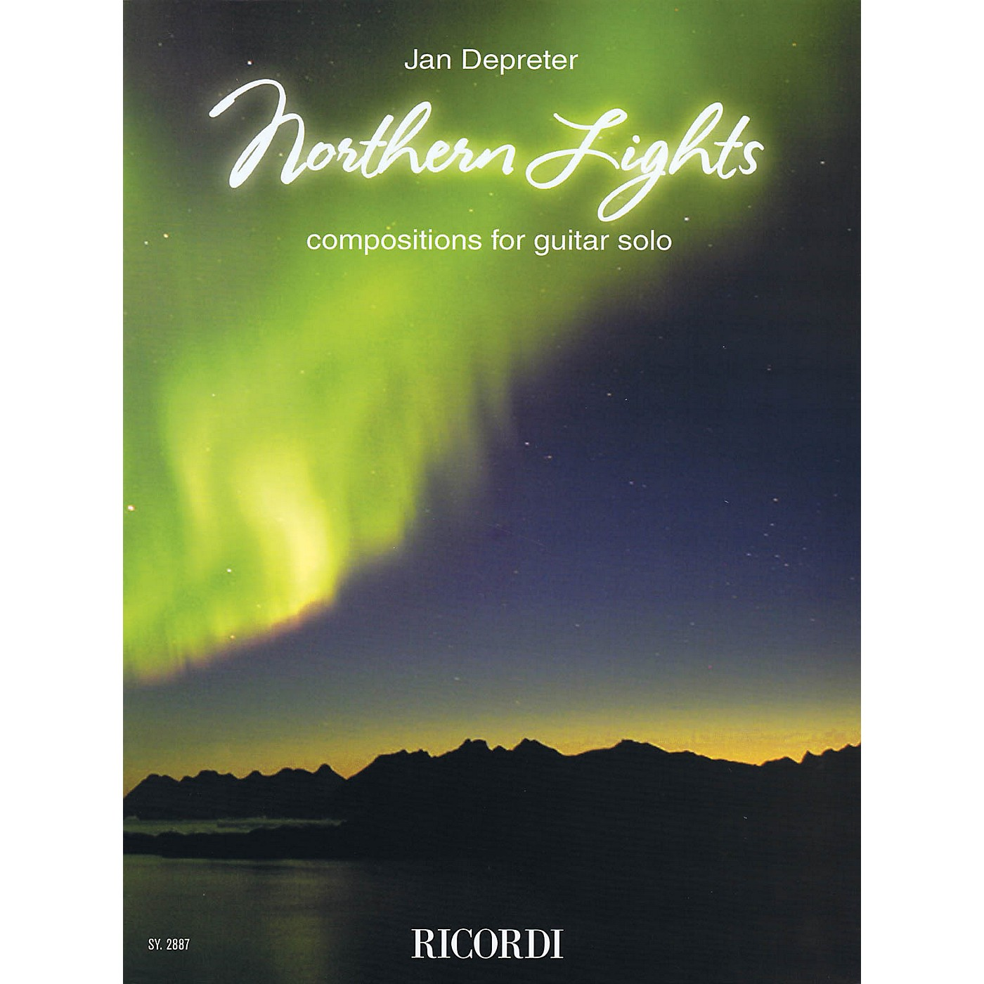 Ricordi Northern Lights (Compositions for Guitar Solo) Ricordi Germany Series Softcover Composed by Jan Depreter thumbnail