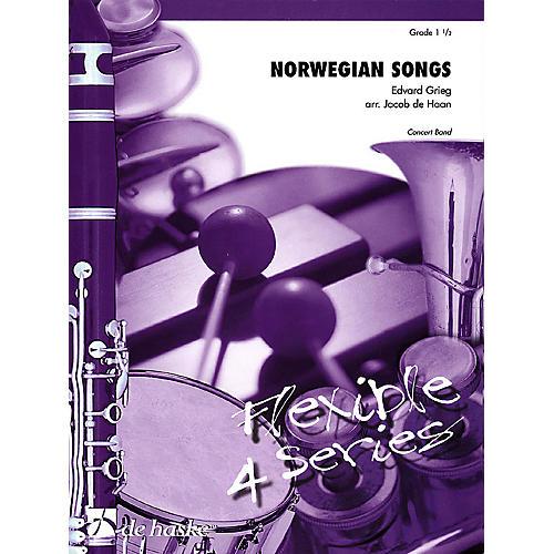 De Haske Music Norwegian Songs Concert Band Level 1.5 Arranged by Jacob de Haan thumbnail