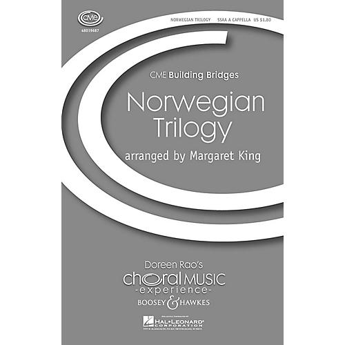 Boosey and Hawkes Norwegian Trilogy (CME Building Bridges) SSAA A Cappella arranged by Margaret King thumbnail