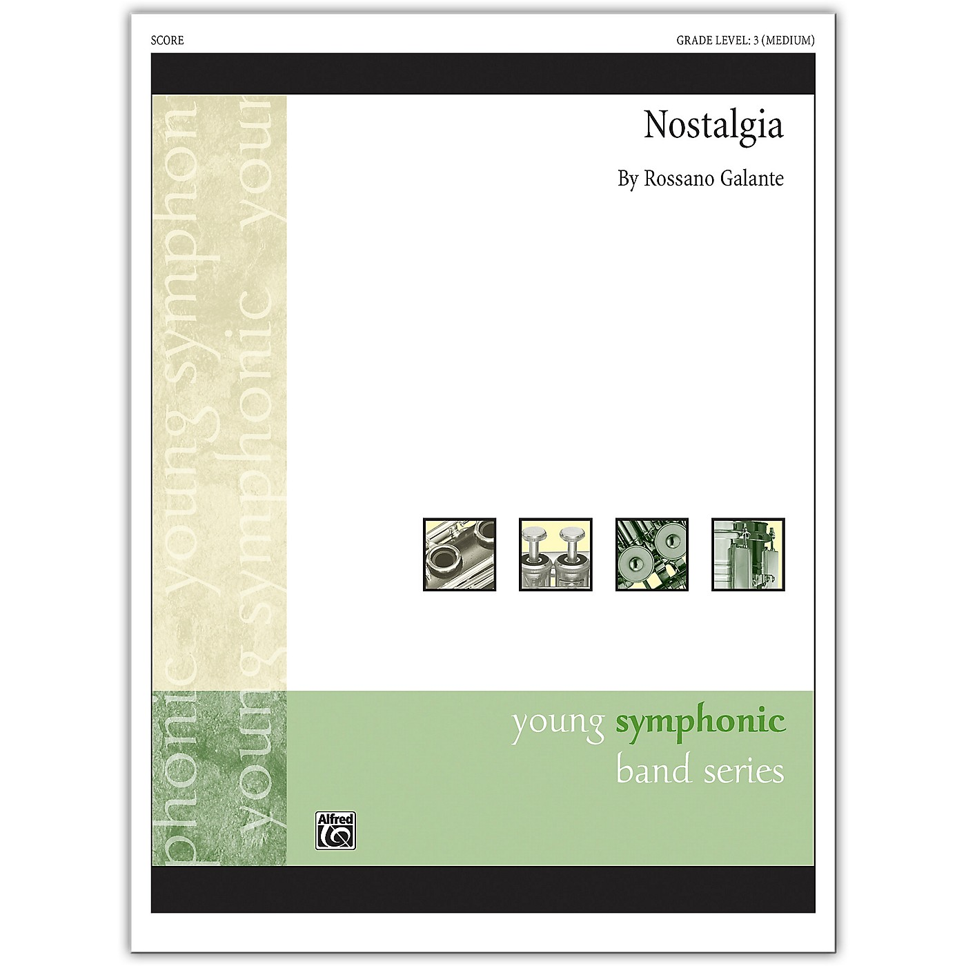 Alfred Nostalgia Conductor Score 3 (Medium) thumbnail