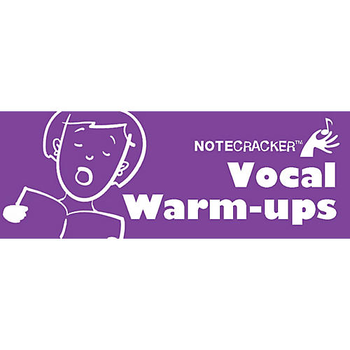 Music Sales Notecracker: Vocal Warmups Music Sales America Series Softcover Edited by Various thumbnail
