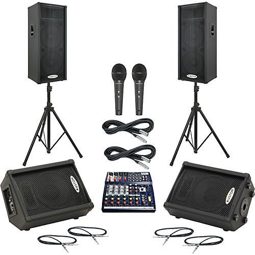 Soundcraft Notepad 124 / KPC215P Mains & Monitors Package thumbnail