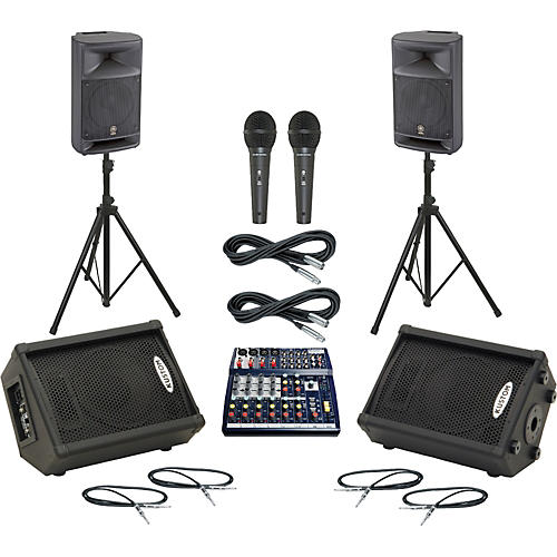 Soundcraft Notepad 124 / MSR250 Mains & Monitors Package thumbnail