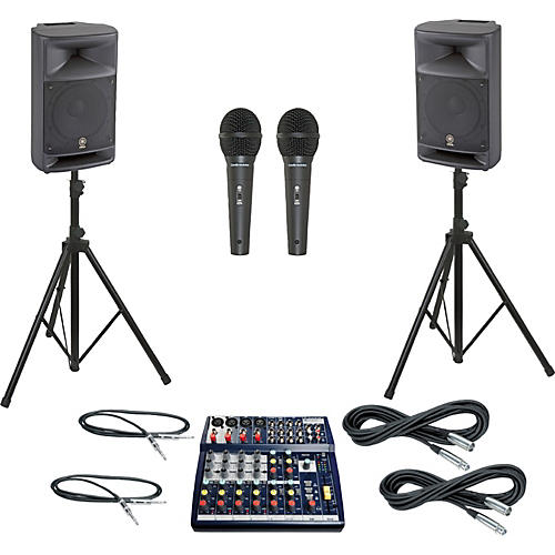Soundcraft Notepad 124 / MSR250 PA Package thumbnail