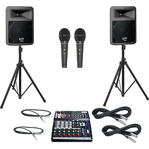 Soundcraft Notepad 124 / PR12D PA Package thumbnail