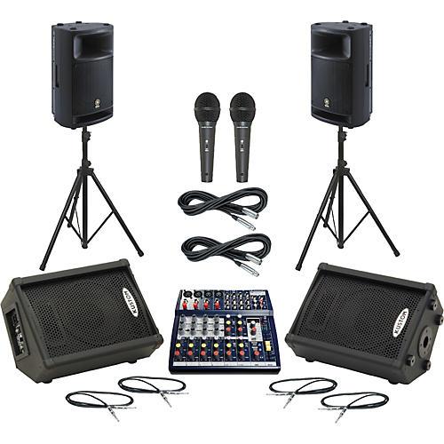 Soundcraft Notepad 124FX / MSR400 Mains & Monitors Package thumbnail