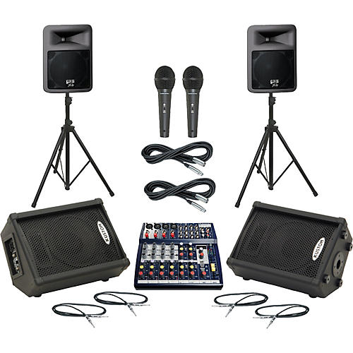 Soundcraft Notepad 124FX / PR12D Mains & Monitors Package thumbnail