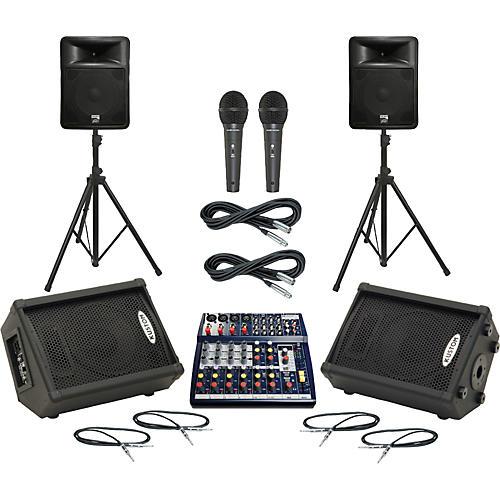 Soundcraft Notepad 124FX / PR15D Mains & Monitors Package thumbnail