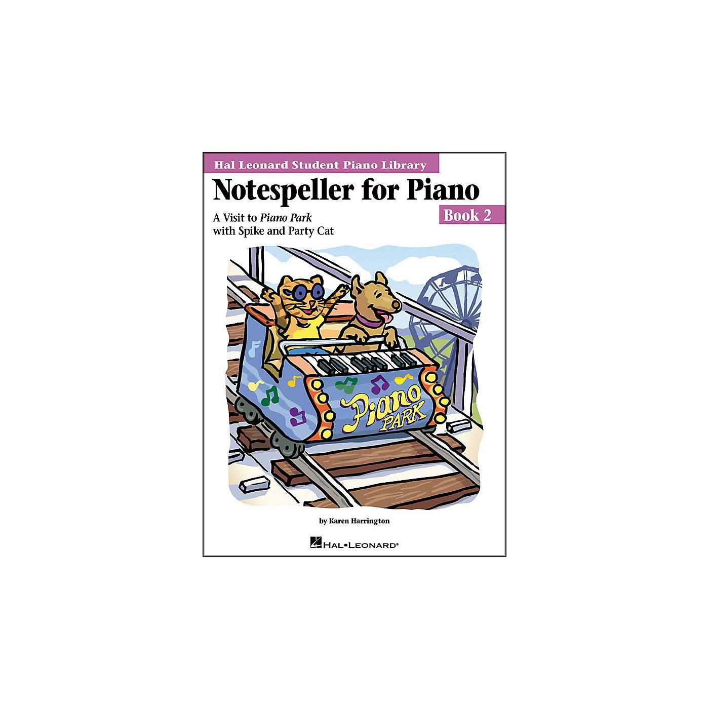 Hal Leonard Notespeller For Piano Book 2 Hal Leonard Student Piano Library thumbnail