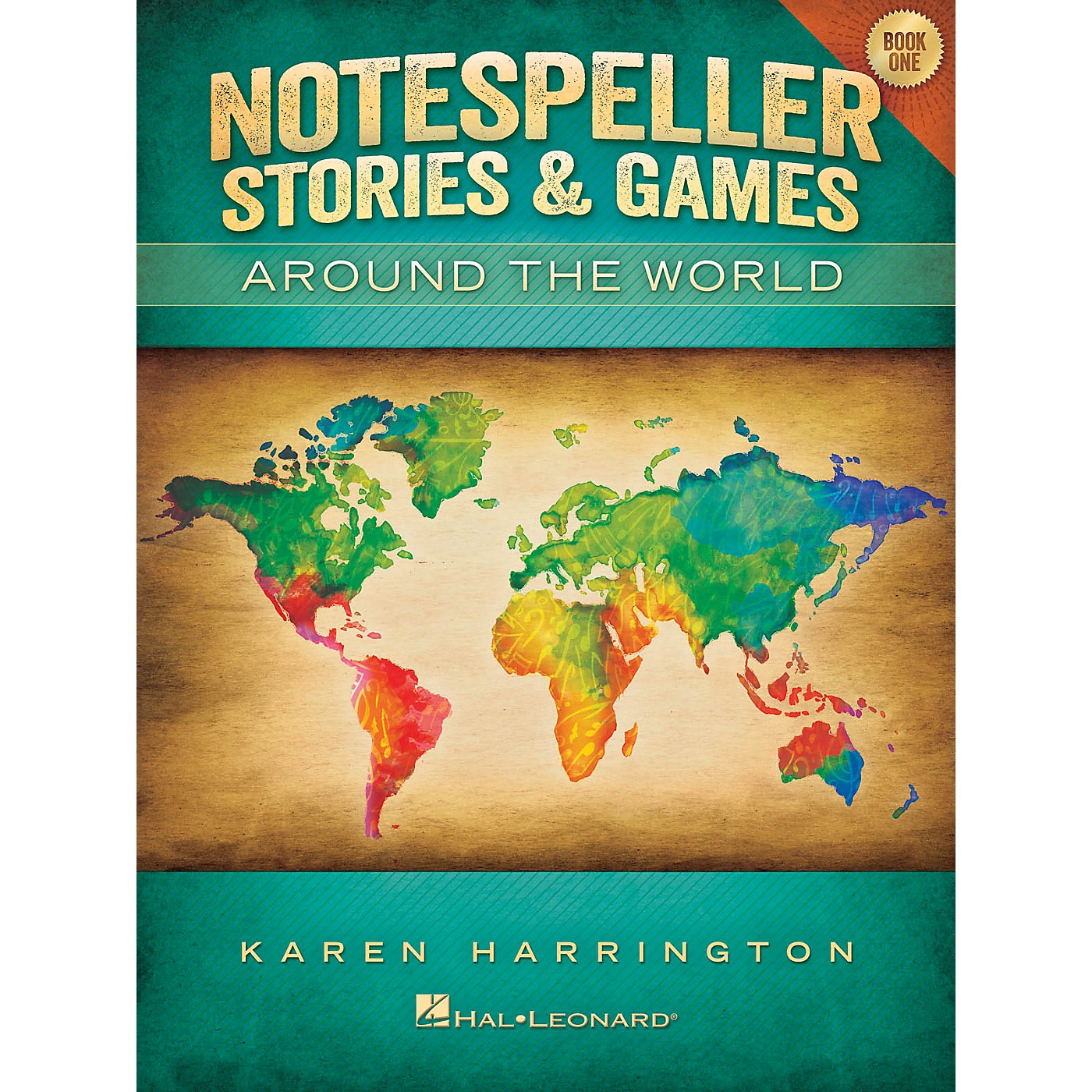 Hal Leonard Notespeller Stories & Games - Book 1 Piano Library Series Book by Karen Harrington (Level Elem) thumbnail