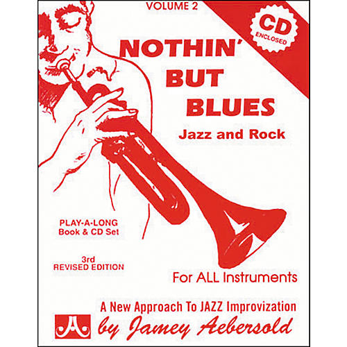 Jamey Aebersold Nothin' But Blues Volume 2 Play-Along Book and CD-thumbnail
