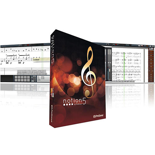 PreSonus Notion 5 Music Notation Software thumbnail