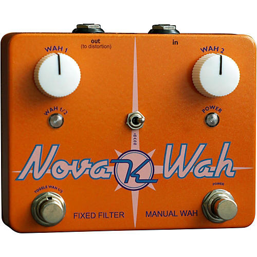 Keeley Nova Wah Guitar Effects Pedal thumbnail