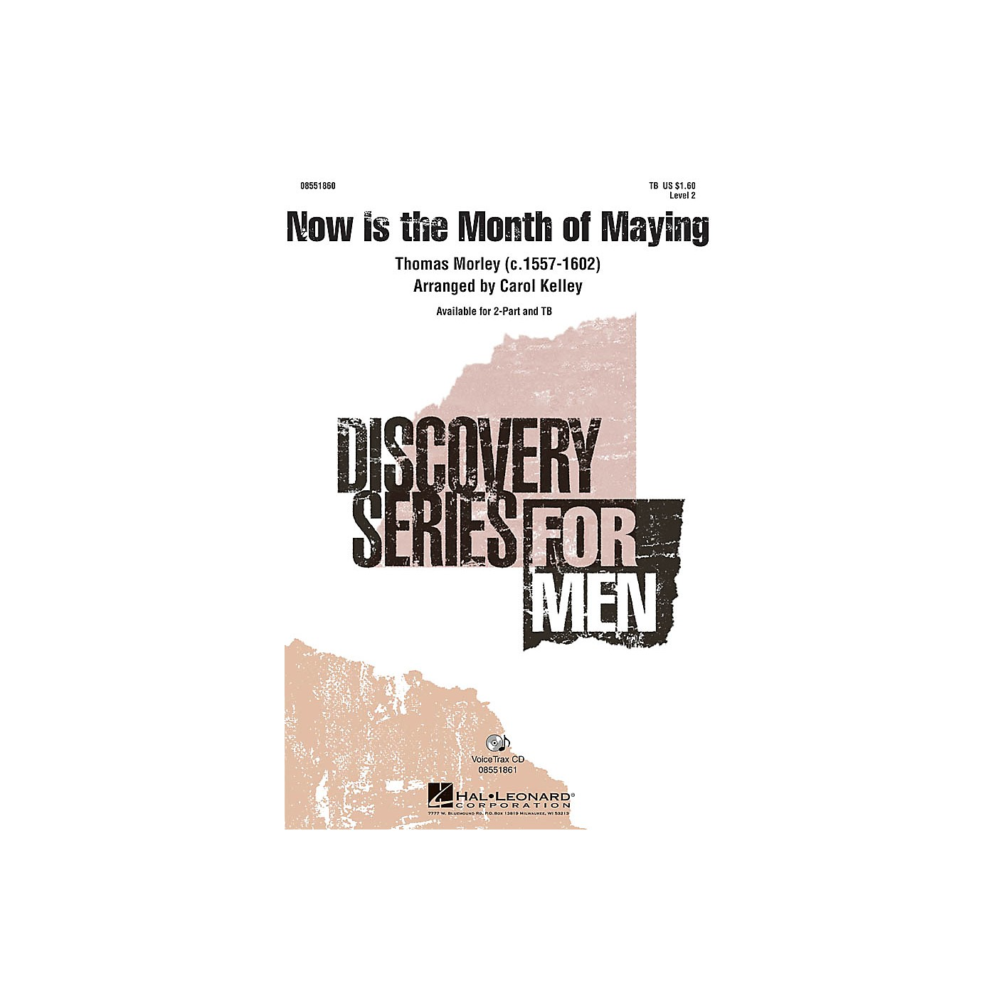 Hal Leonard Now Is the Month of Maying TB arranged by Carol Kelley thumbnail