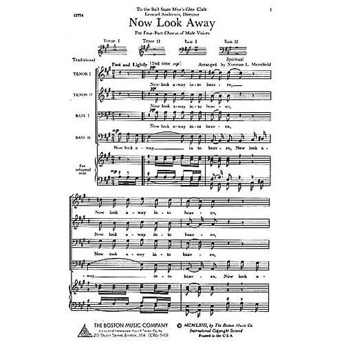 Boston Music Now Look Away TTBB Arranged by Norman L. Merrifield thumbnail